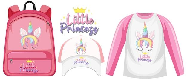 Set unicorn outfits