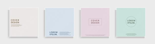 Set van abstracte diagonale strepen textuur met roze blauw paars groen geel pastel kleur