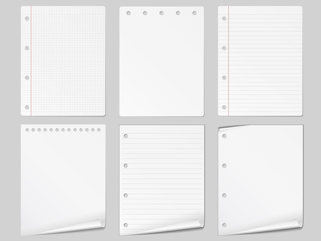 Set van ander papier,