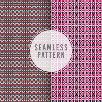 Set van artistieke naadloze patronen, creatieve moderne texturen, stijlvolle abstracte achtergronden ontwerp.