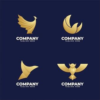 Set van bedrijfsdieren logo