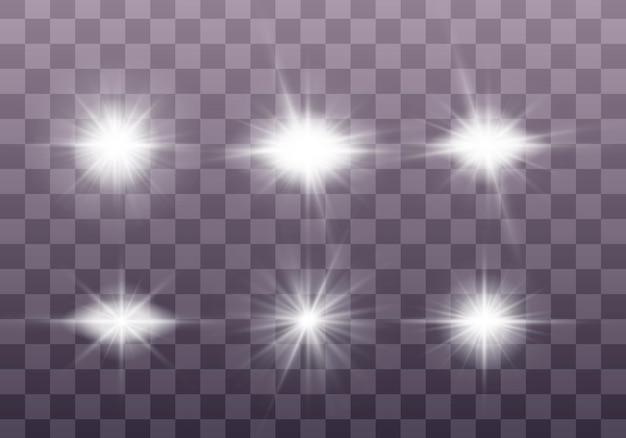 Set van bright star.
