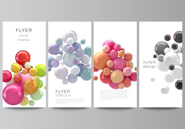 Set van brochures