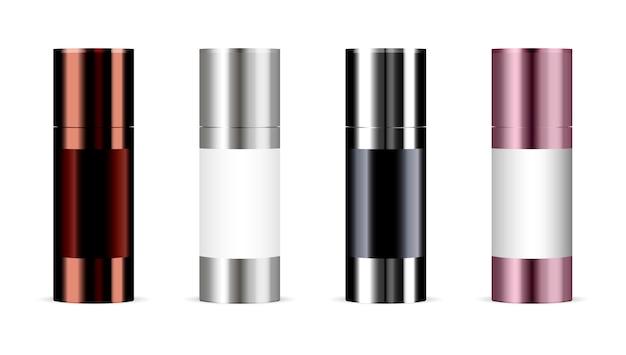 Set van cosmetische producten. cosmetisch pakket