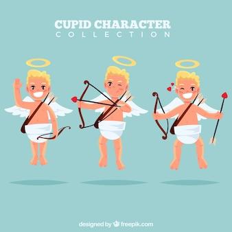 Set van cupid karakters