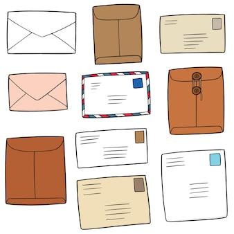 Set van de envelop