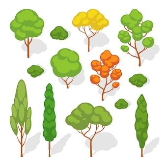 Set van de vectorbomen