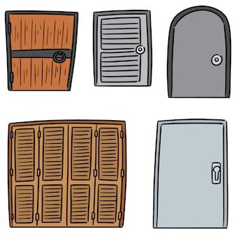 Set van deur