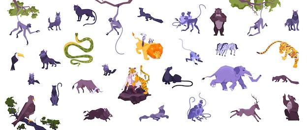 Set van dieren
