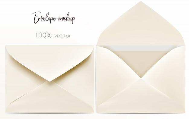 Set van envelop