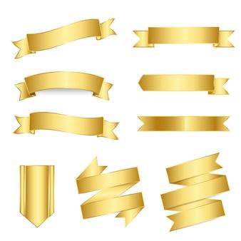 Set van gemengde banners vector