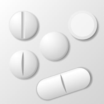 Set van geneeskundepil - tabletdrug