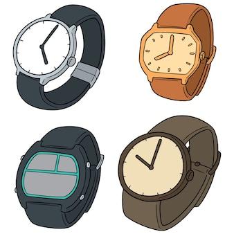 Set van horloge