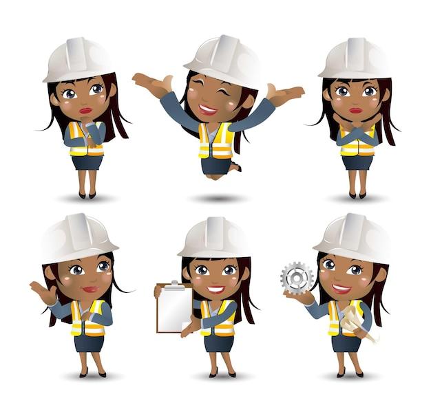 Set van ingenieur