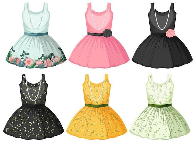 Set van jurk
