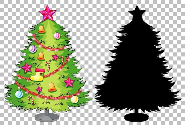 Set van kerstboom