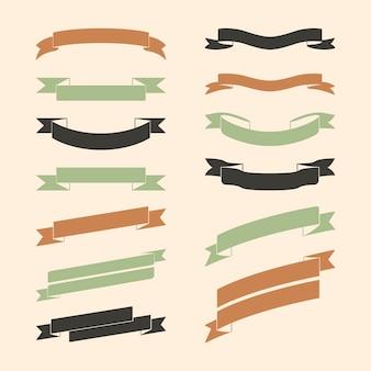 Set van kleurrijke banner vectoren