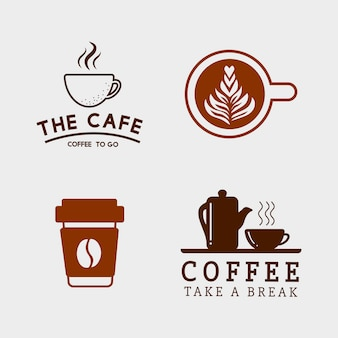 Set van koffie elementen en koffie accessoires