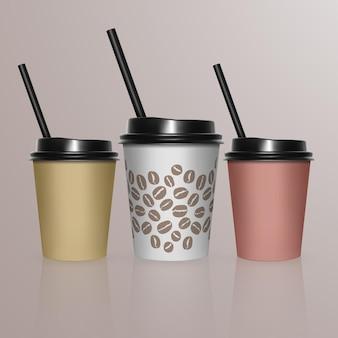 Set van koffiekopje