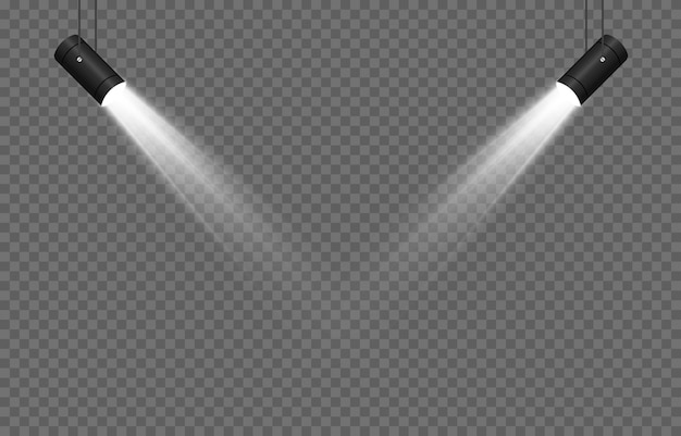Set van licht