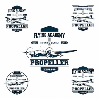 Set van luchtmacht logo
