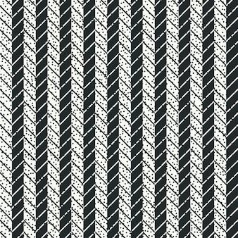 Set van marine geometrische naadloze patroon met anker