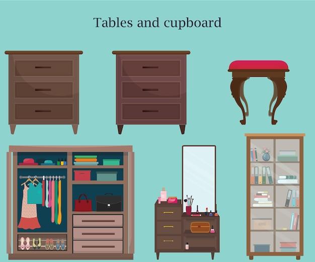 Set van meubels