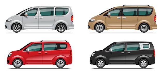 Set van minibusje