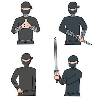 Set van ninja
