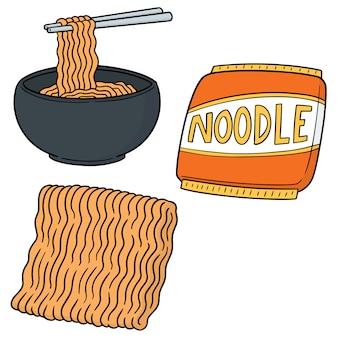 Set van noodle