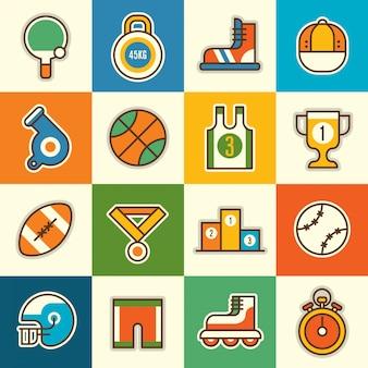 Set van pictogrammen