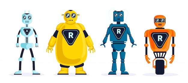 Set van robots