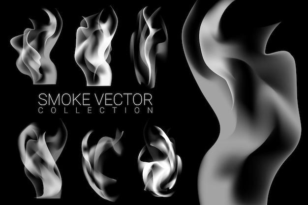 Set van rook