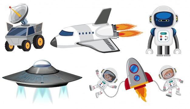 Set van ruimtevervoer