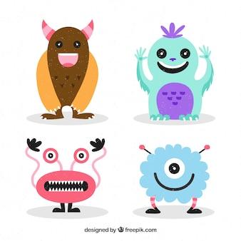 Set van schattige monsters