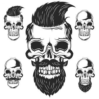Set van schedels