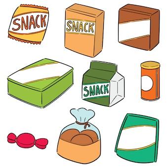 Set van snack