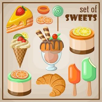 Set van snoep