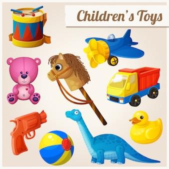 Set van speelgoed voor kinderen