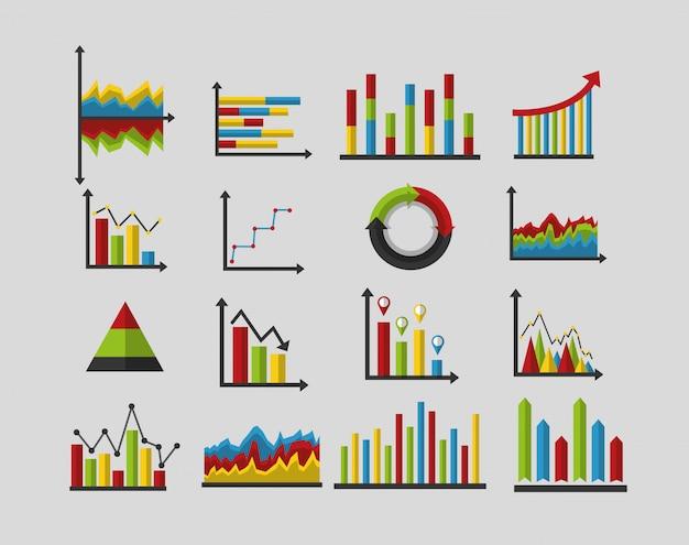 Set van statistieken analyse gegevens