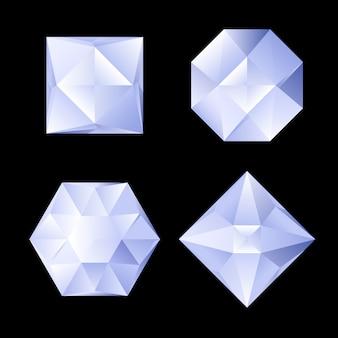 Set van steentjes