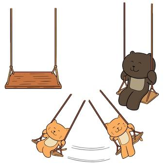 Set van swing