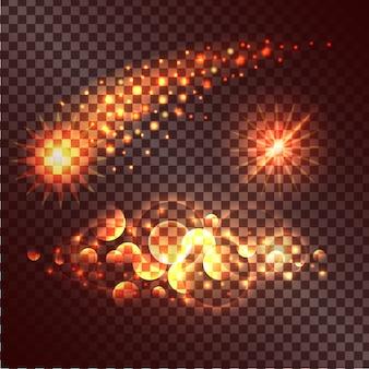 Set van twinkle-acties