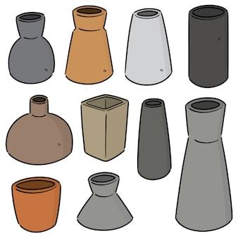 Set van vaas
