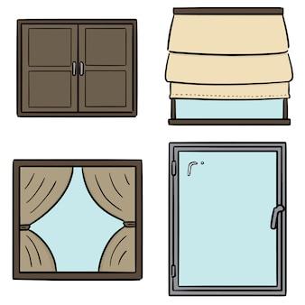 Set van venster