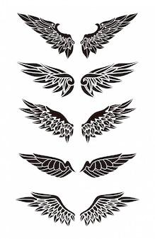 Set van vleugels