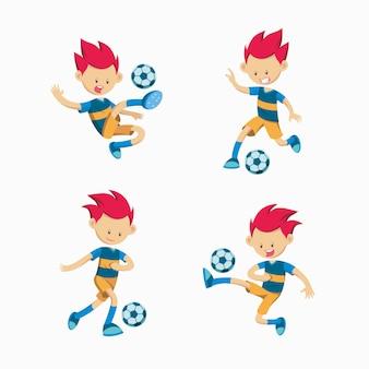 Set van voetbal