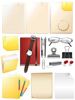Set van werkelement