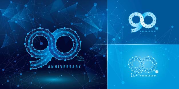 Set verjaardag logo