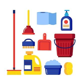 Set voor het reinigen van oppervlakken